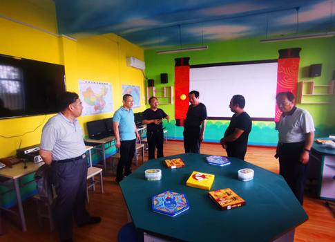 澄城县慈善协会对2019年99公益日项目进行检查验收